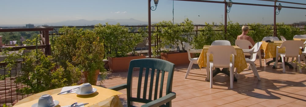 montesacro rome hotel with terrace
