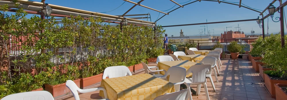 Via Nomentana  External Views Hotel Carlo Magno Rome